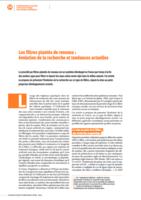 FPR : Evolution de la recherche et tendances actuelles