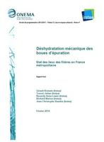Deshydratation mecanique des boues